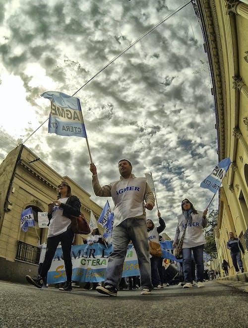 Gratis lagerfoto af march, marcherende, protest