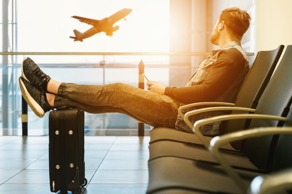 aeroport, avió, avions
