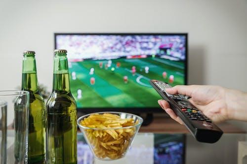 Sledování sportovních utkání na tv