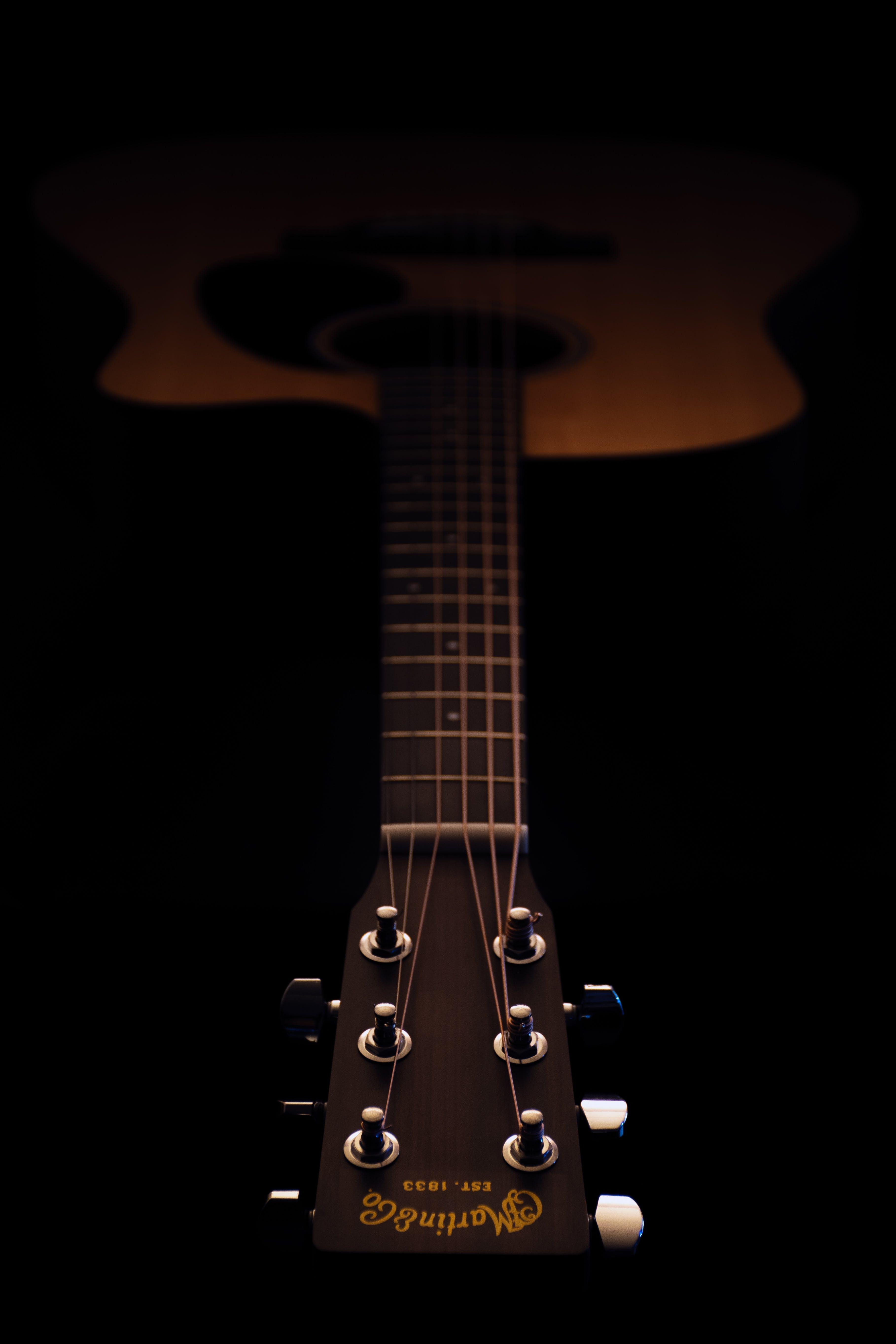 гитара, инструмент, музыкальный инструмент