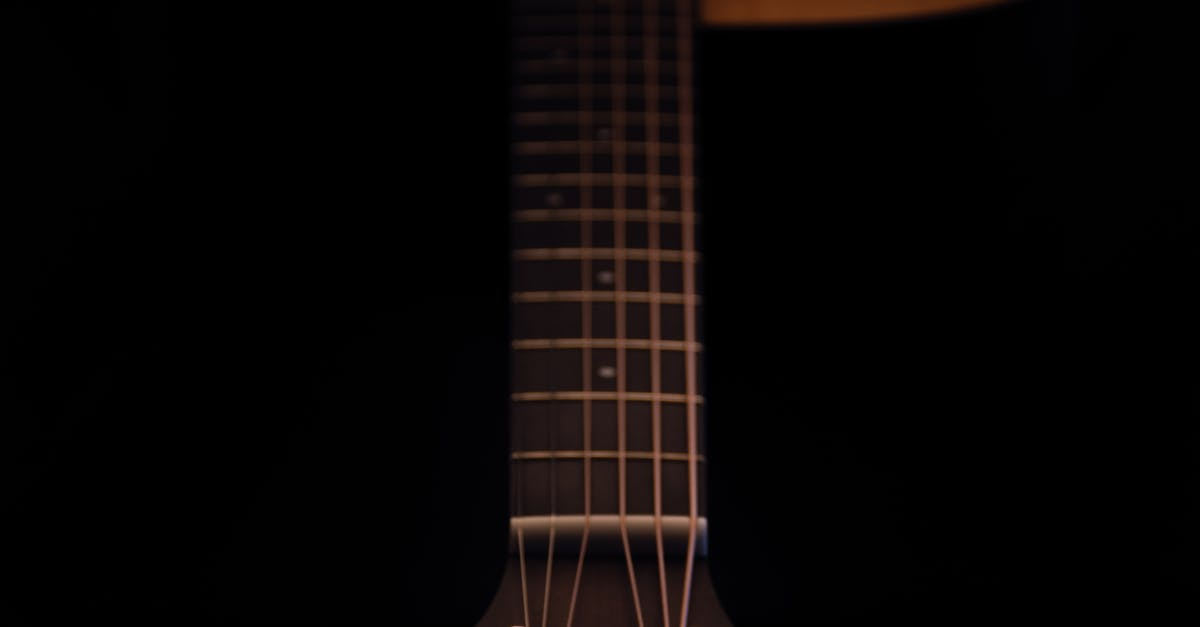 Photography Of Dreadnought Acoustic Guitar