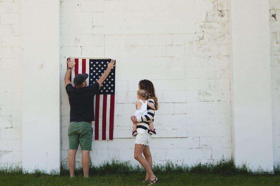 Man Holding U.s. Flag