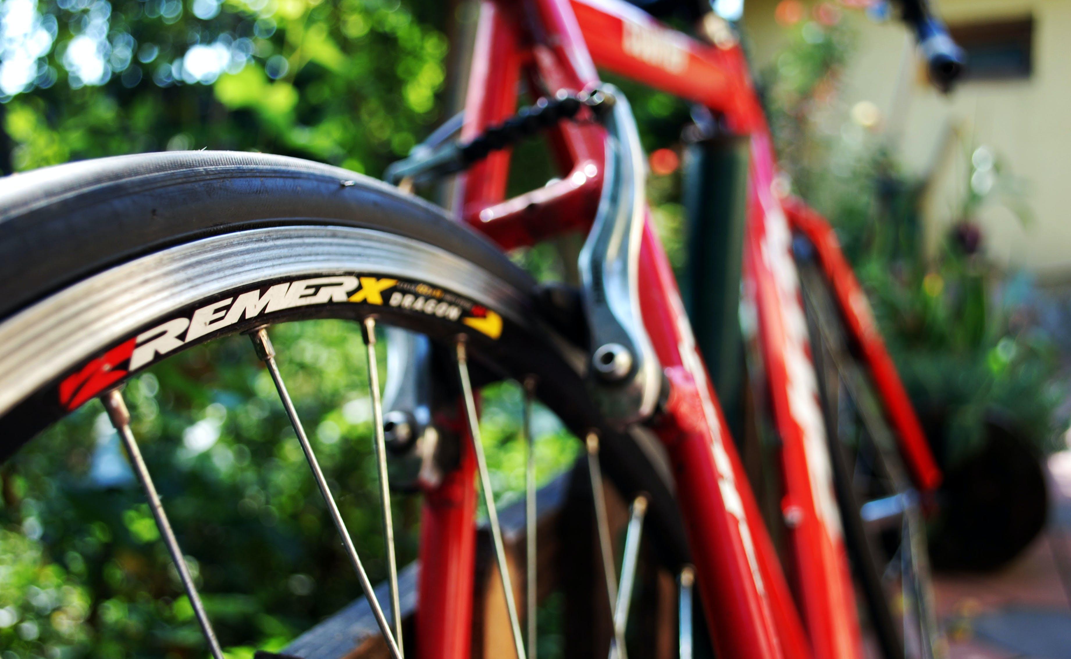 Red Black Remerx Bicycle