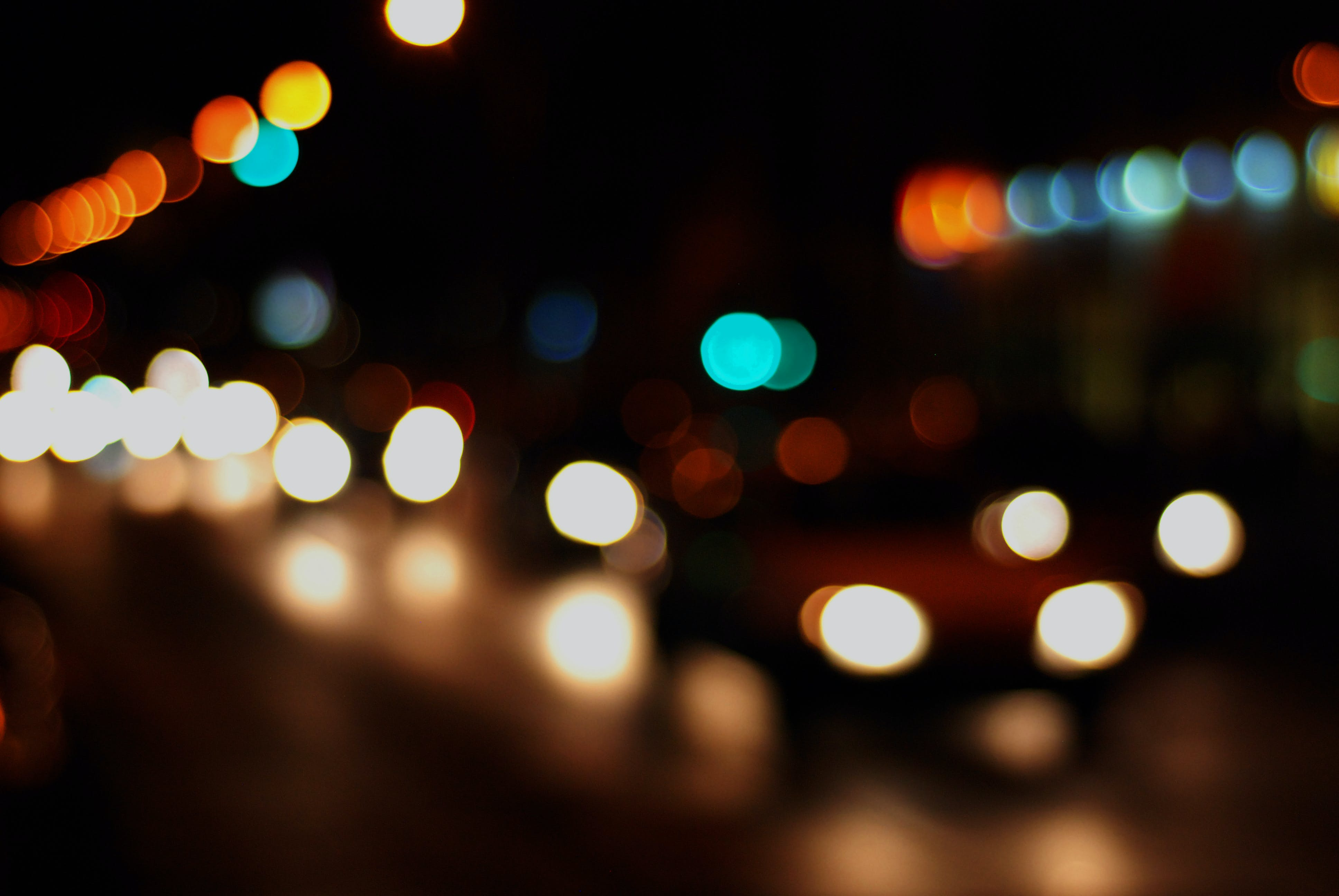 Free stock photo of lights, bokeh, blurred