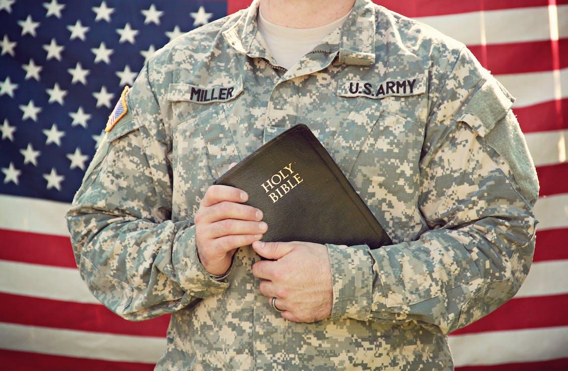 America, bandera estadounidense, Biblia