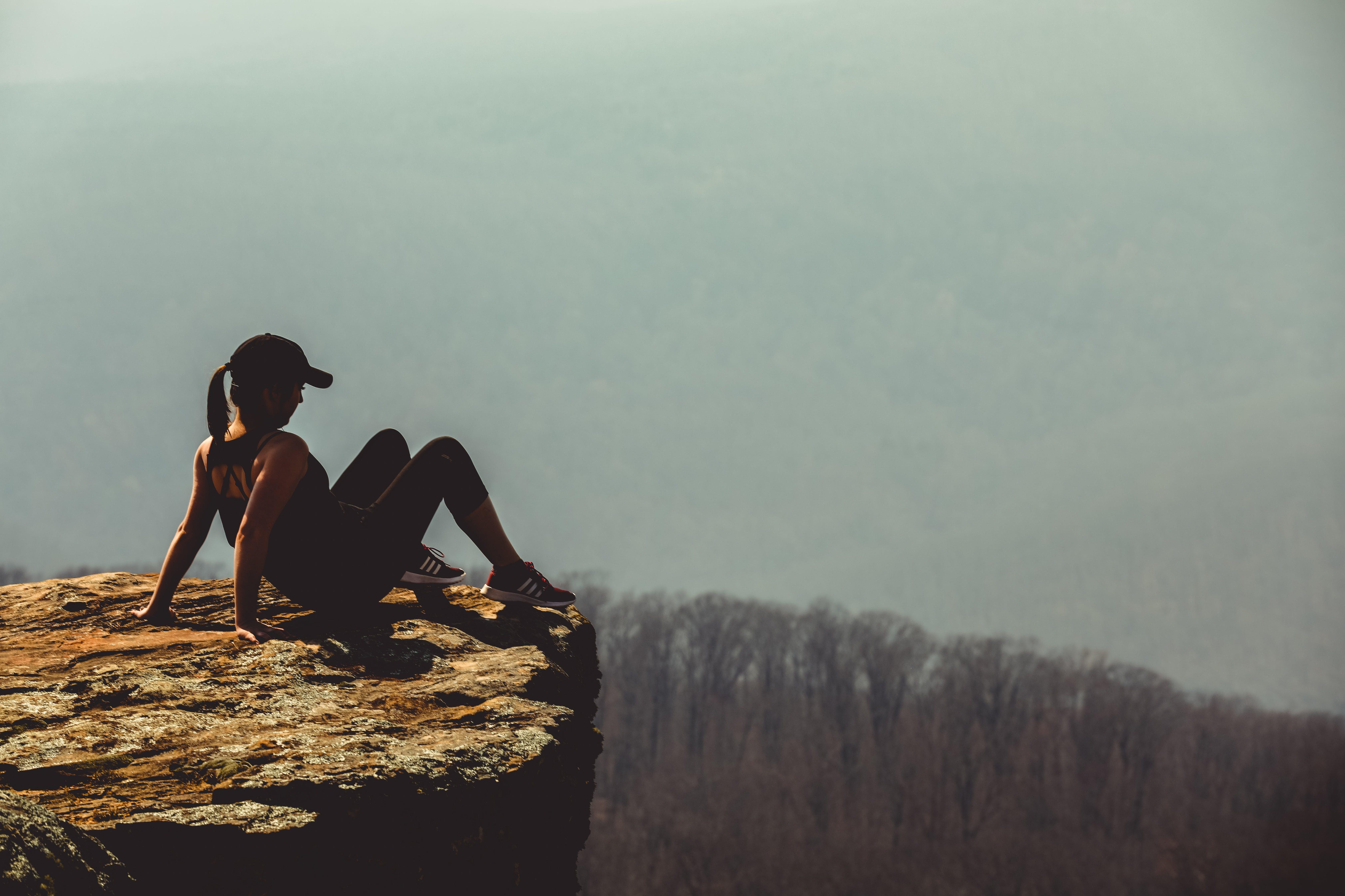 arkansas, bjerg, dagslys