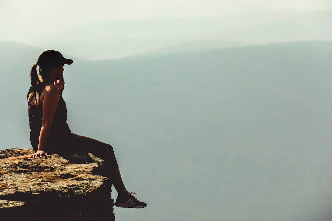 คลังภาพถ่ายฟรี ของ white rock mountain, กลางวัน, กล้าหาญ