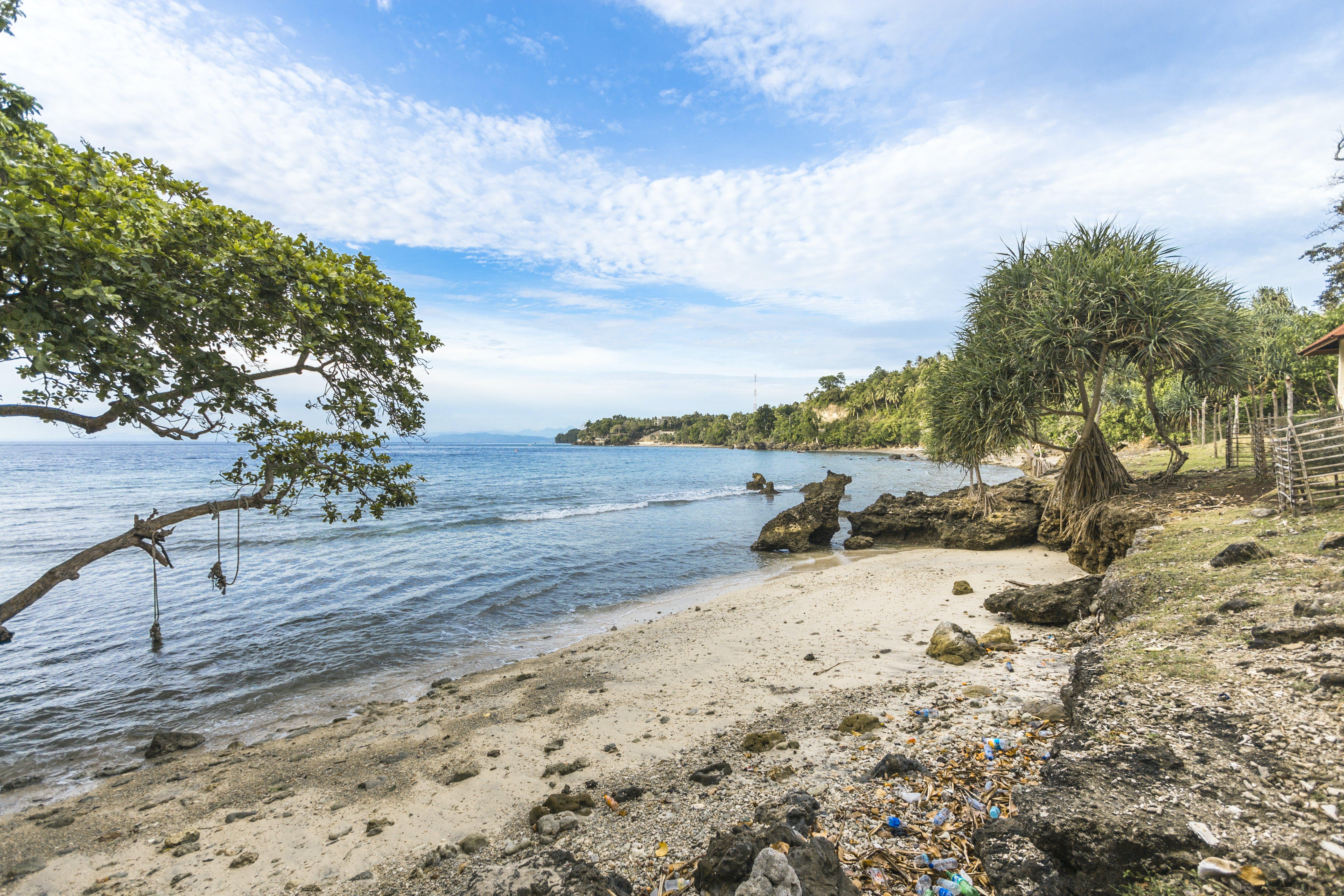 Free stock photo of anoi itam, beach, blue sky, laut