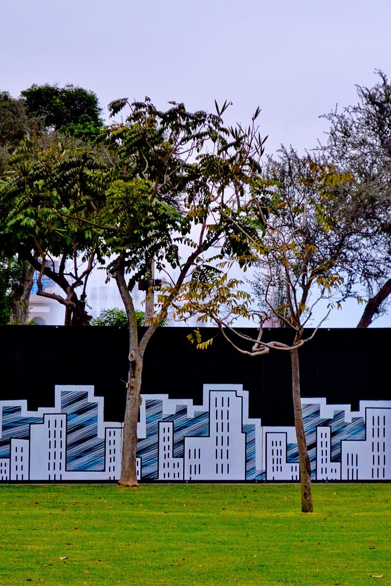 Free stock photo of buildings, garden, green, lima