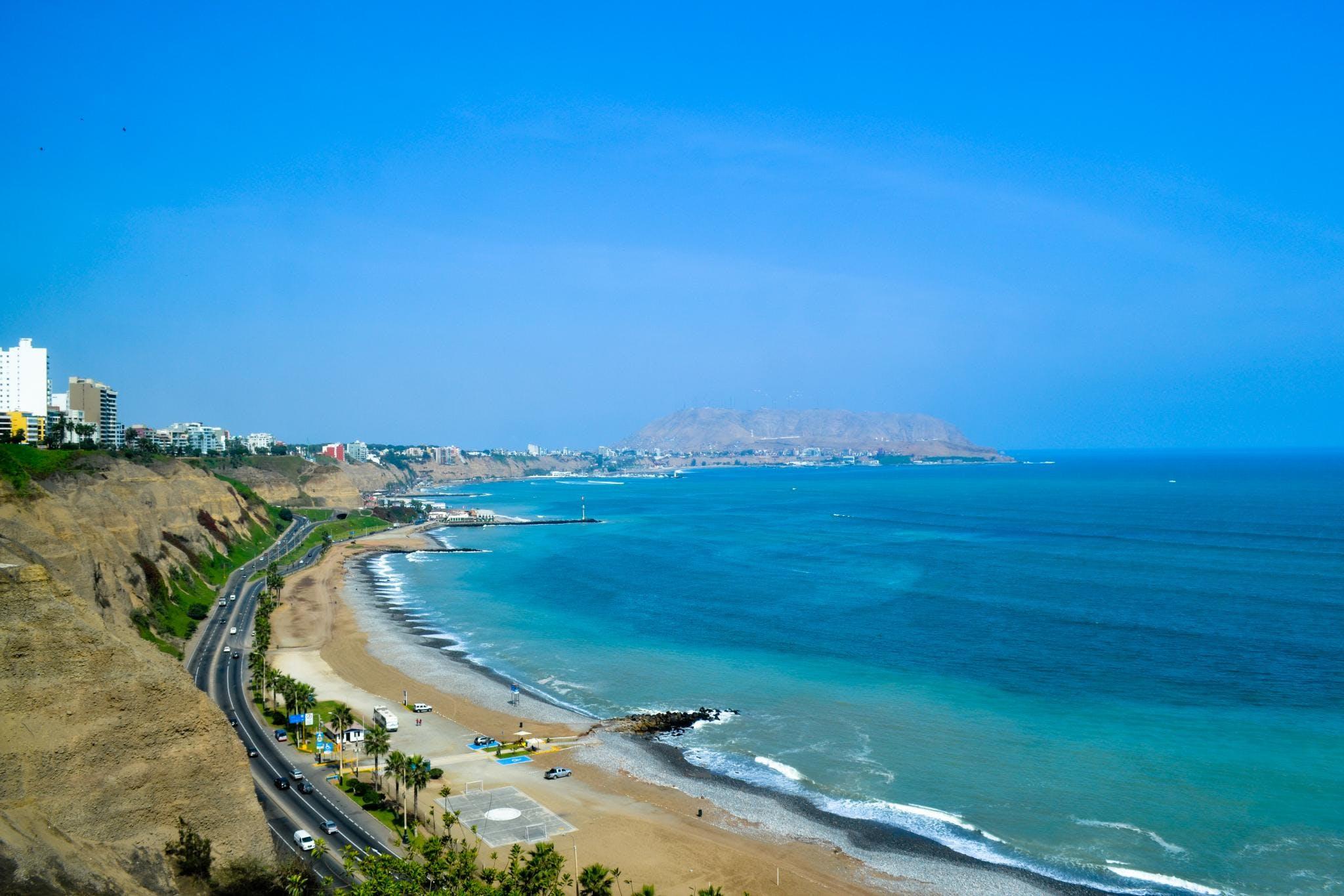 Free stock photo of beach, beachs, blue sky, lima