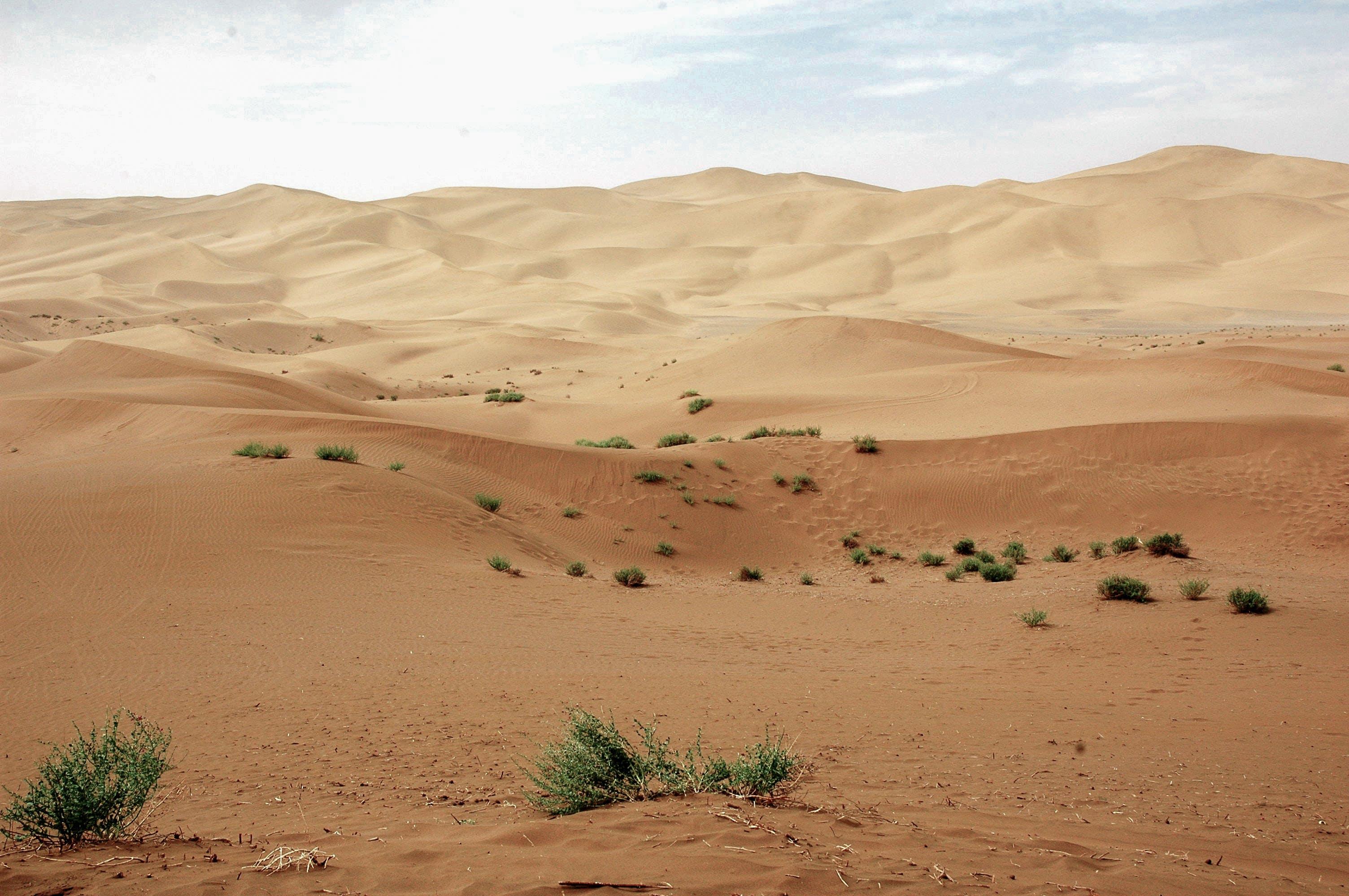 Free stock photo of desert, dunes, sand, sand dunes