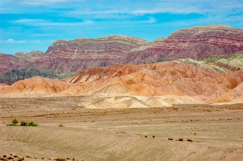 Free stock photo of china, color, mountains, taklamakan desert