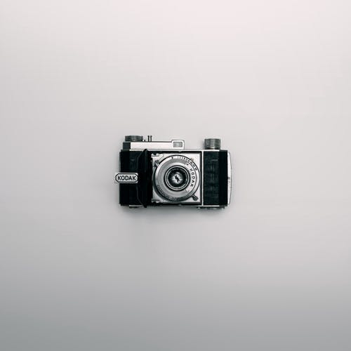 Black And Grey Kodak Camera