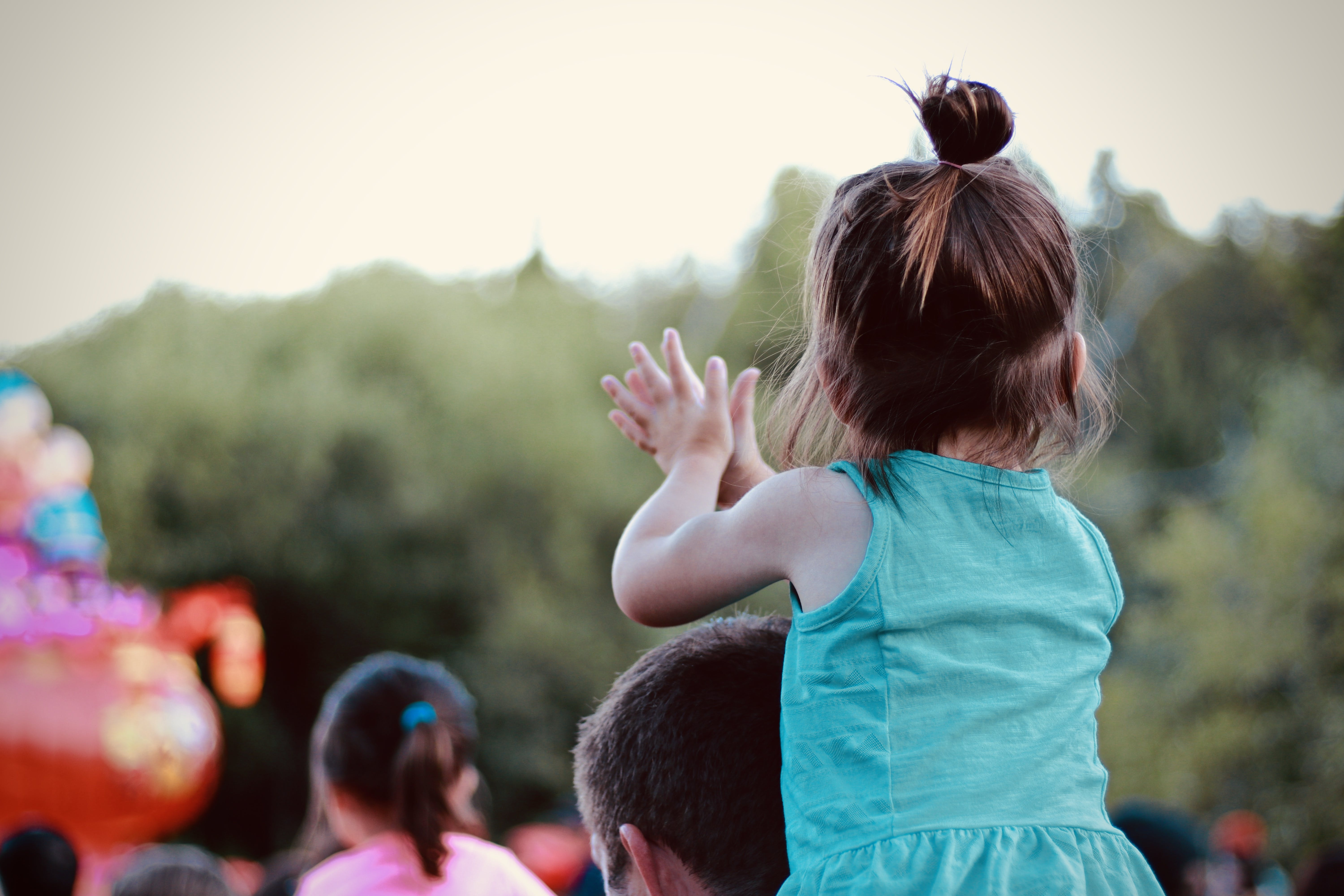 Shallow Focus Photography Of Girl Clapping
