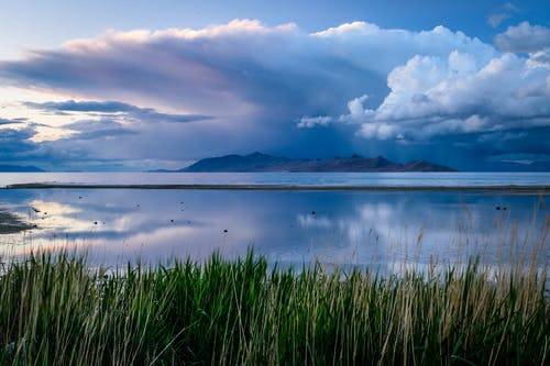 경치, 구름, 물, 산의 무료 스톡 사진