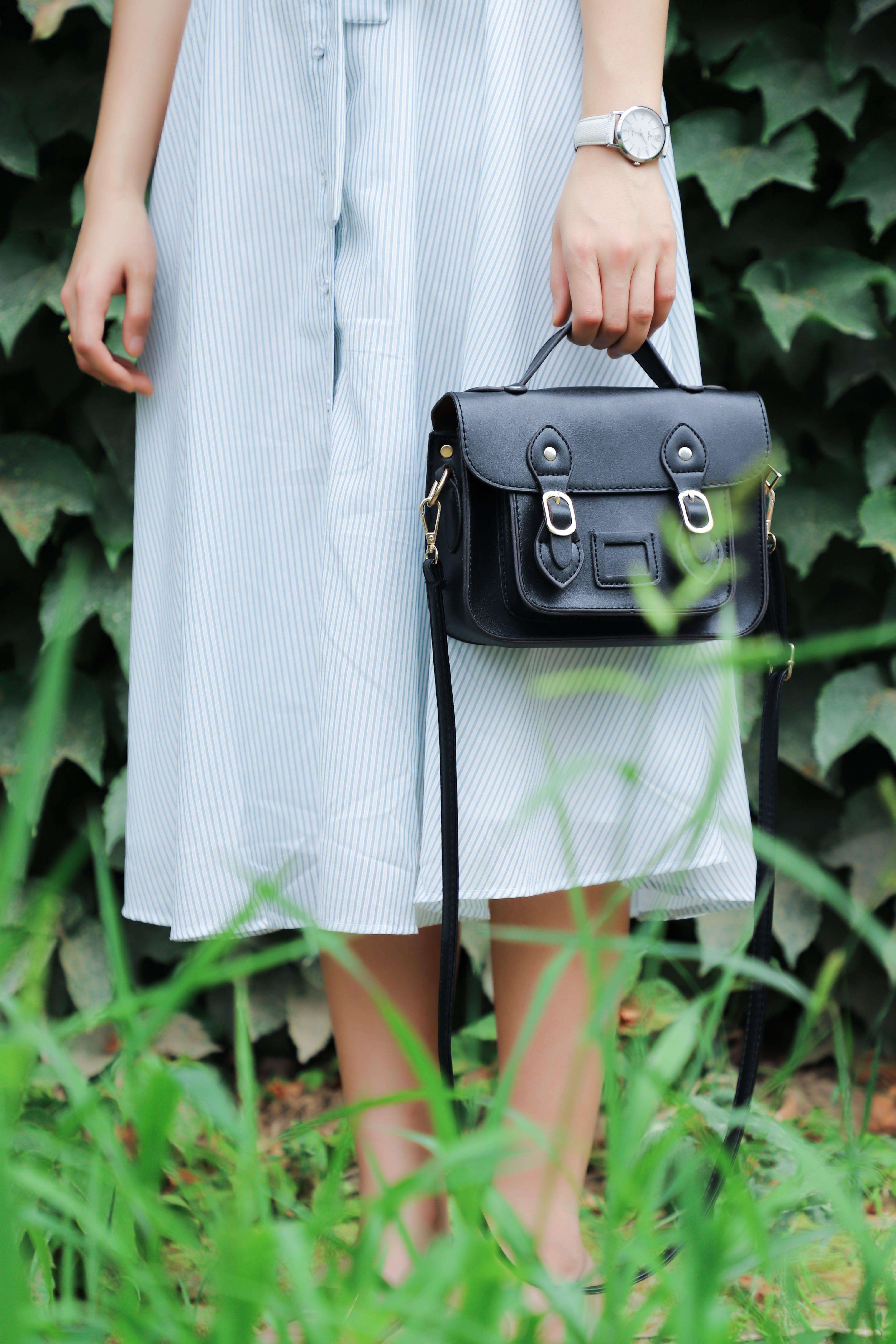 ドレス, ハンドバッグ, ファッション, 人の無料の写真素材