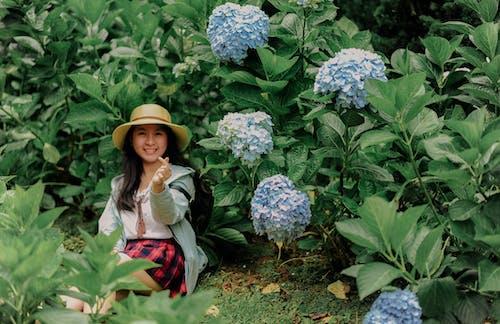 亞洲女人, 亞洲女孩, 人, 公園 的 免費圖庫相片