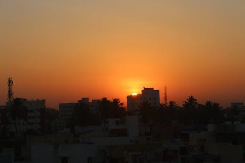 Foto profissional grátis de conhecimento, conjunto de sol, fundo do sol, imagem de fundo