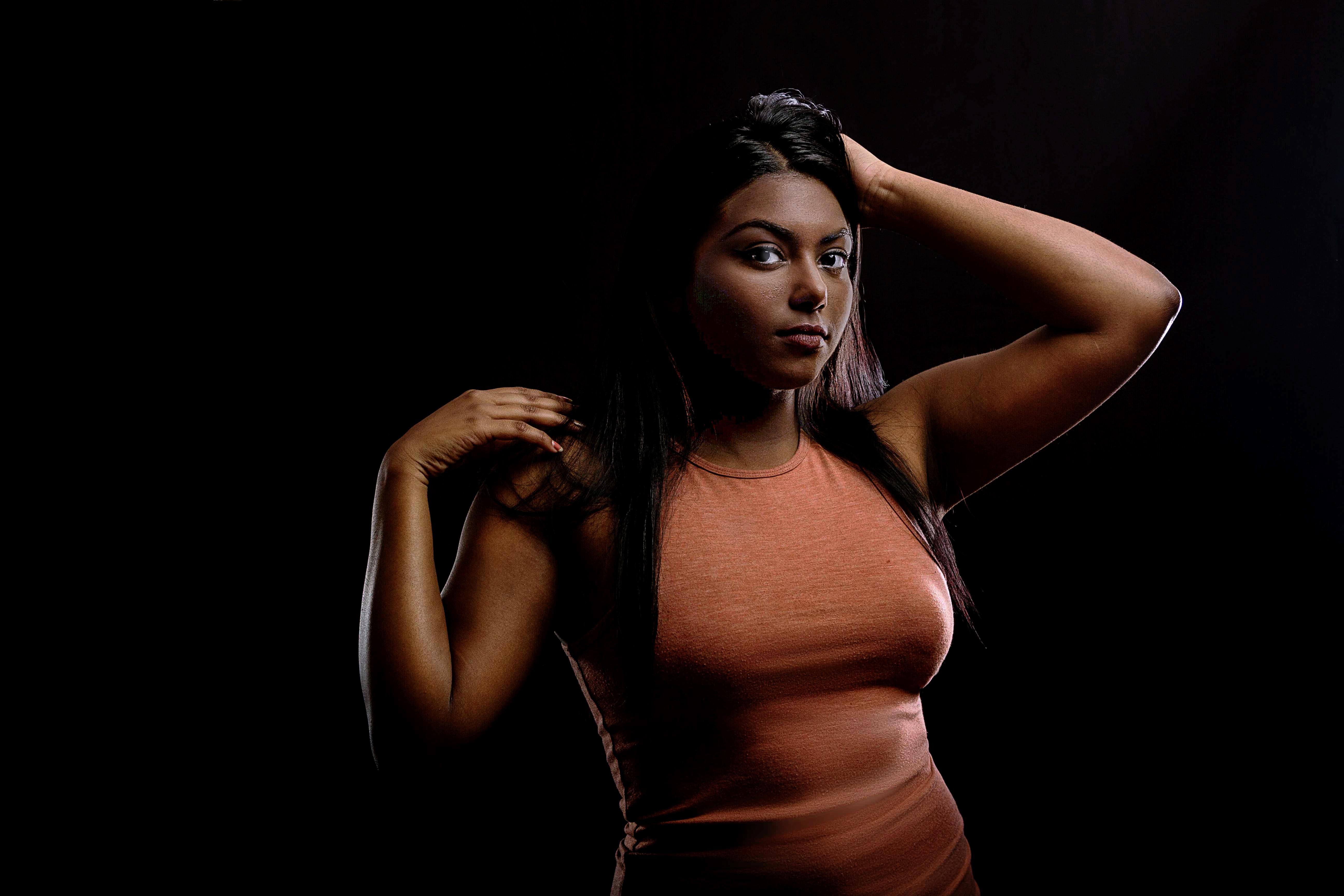 bilde av sexy sorte kvinner