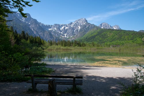Free stock photo of almsee, austria, blue sky, gmunden