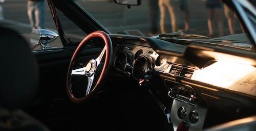 คลังภาพถ่ายฟรี ของ กล้ามเนื้อ, ตกแต่งภายใน, ภายในรถยนต์