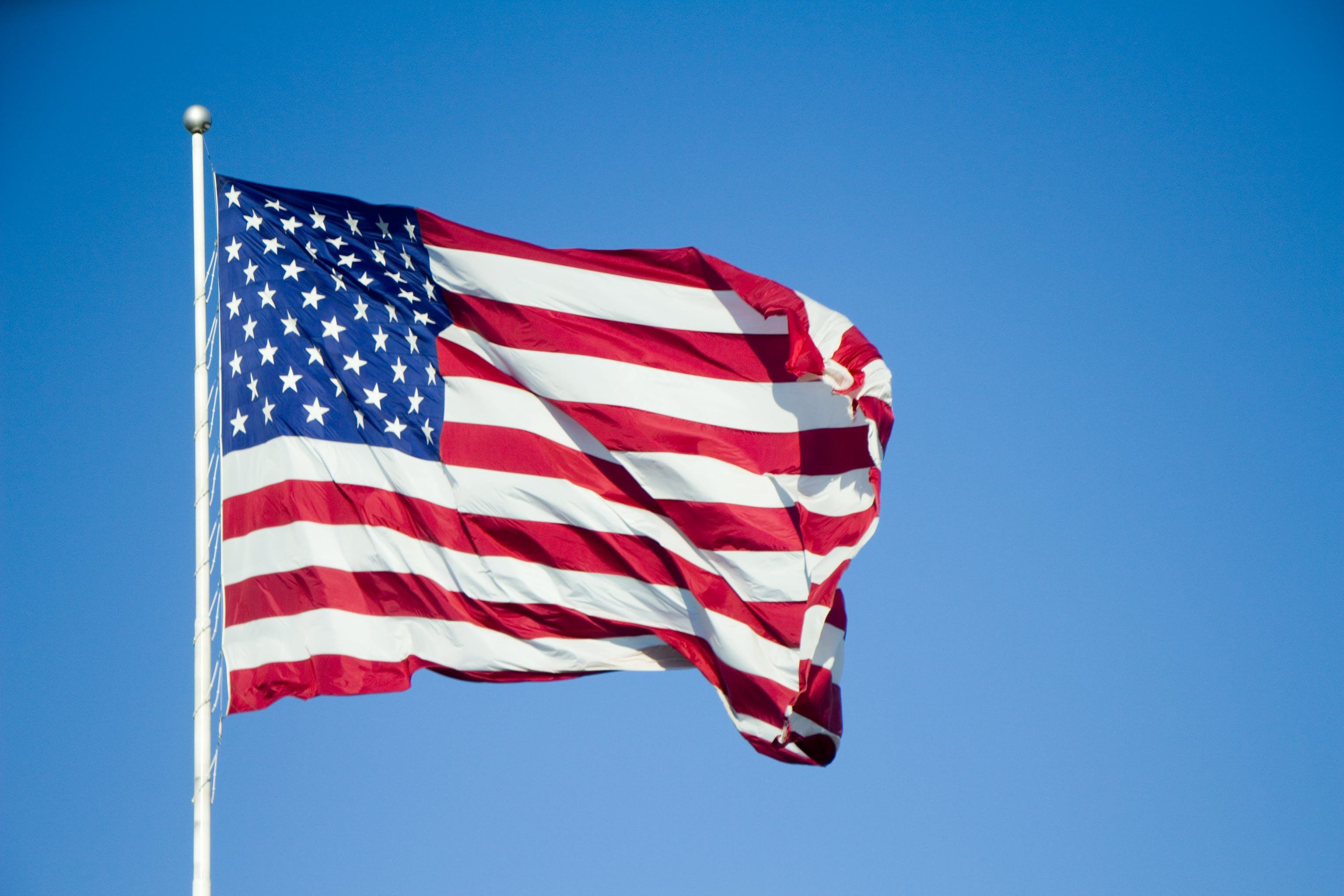 Free stock photo of america, country, flag, fourth of july