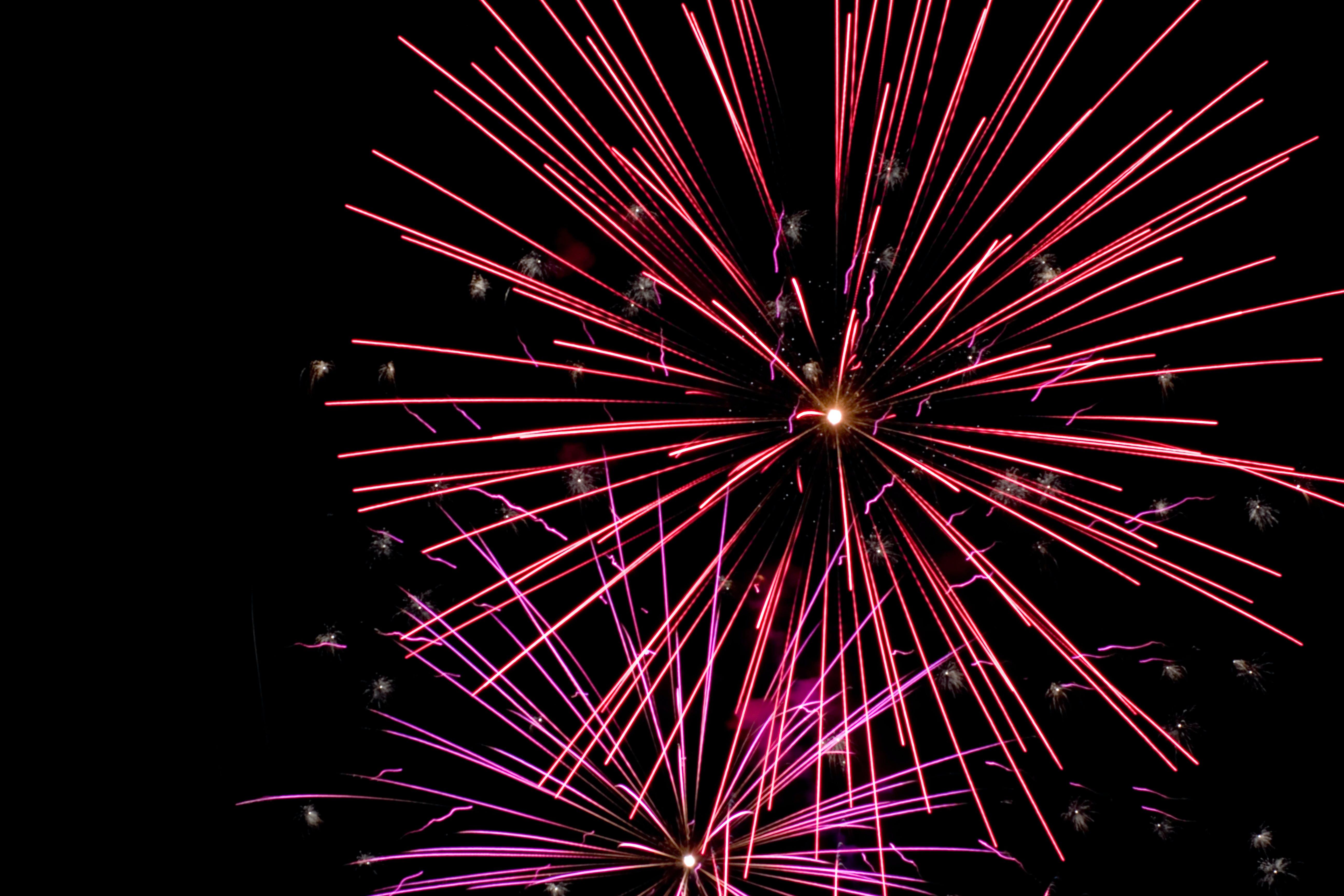 Free stock photo of bright, celebration, explosion, fireworks
