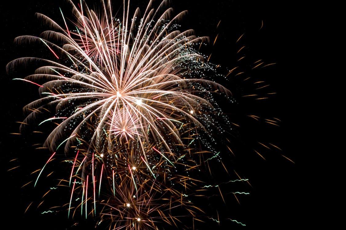 Free stock photo of bright, celebration, explosion