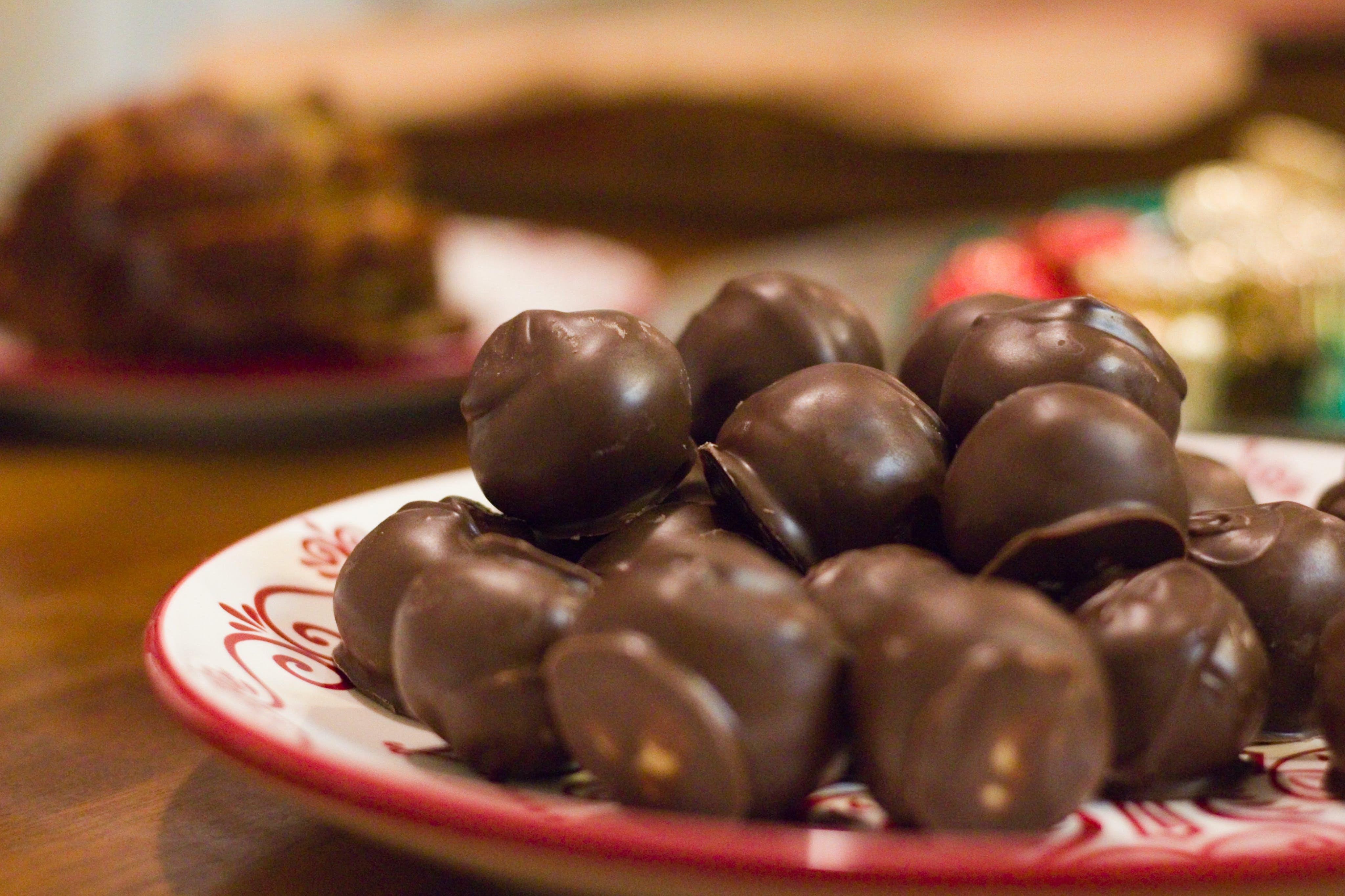 Free stock photo of holidays, chocolate, delicious, decorative