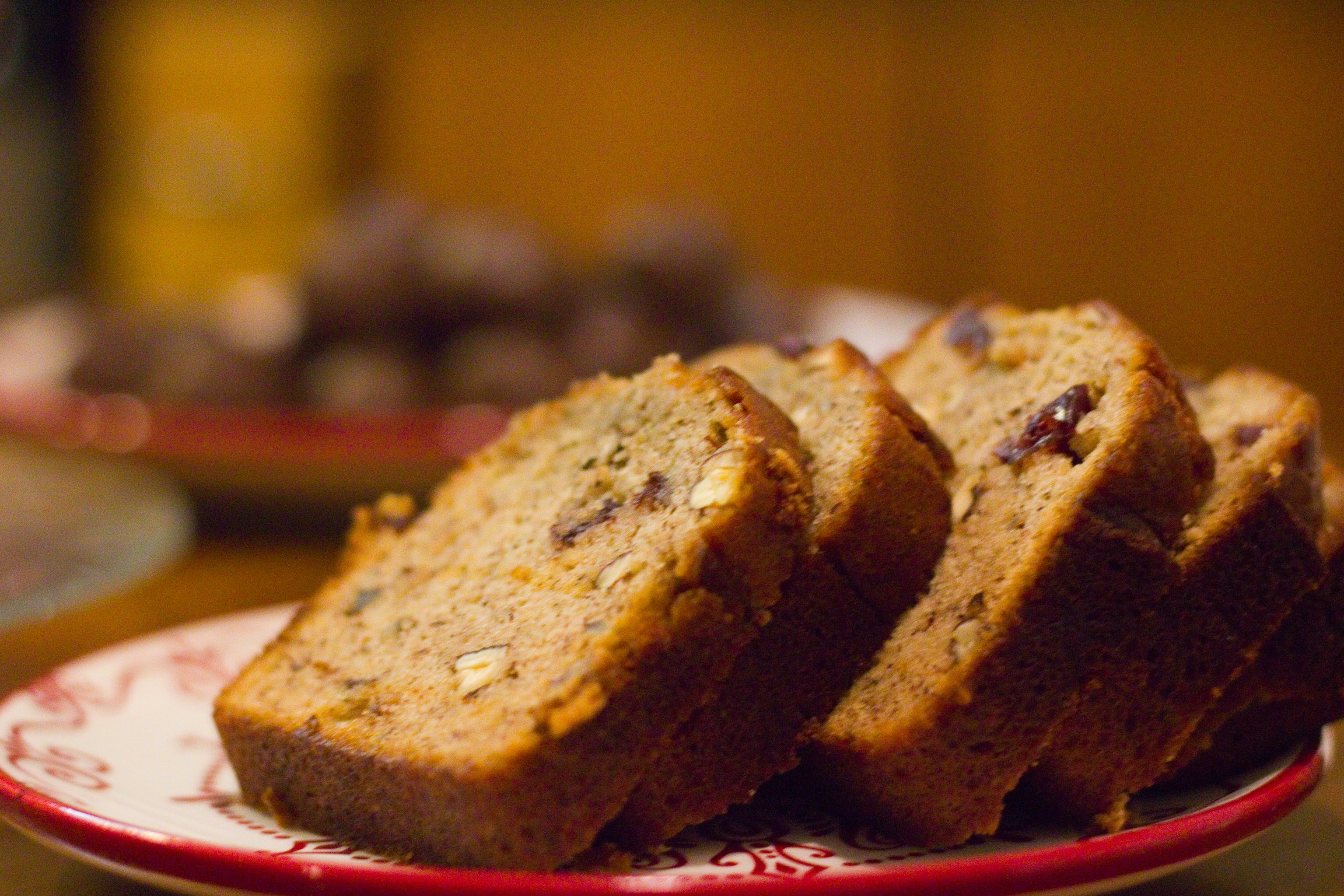 Free stock photo of bread, plate, holidays, nuts