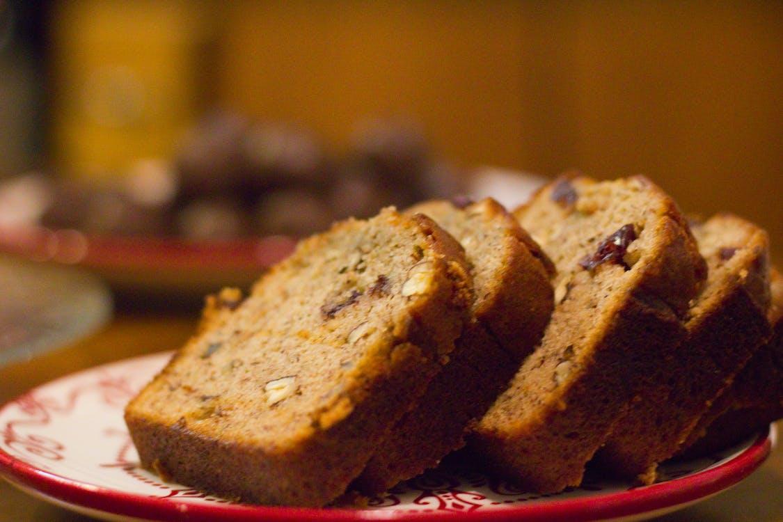Free stock photo of banana bread, bread, carbs