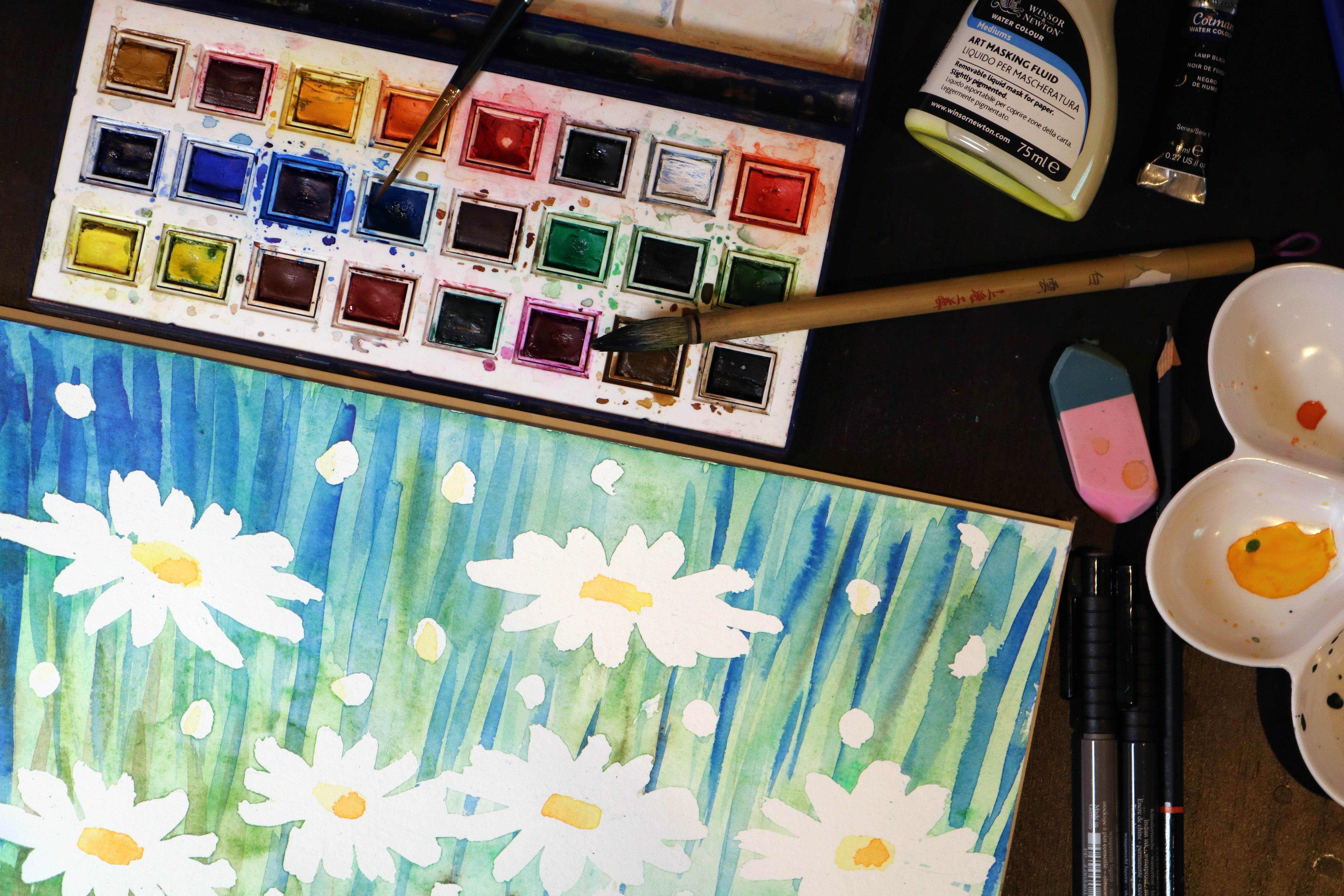 Free stock photo of art, artists, artwork, color pallet