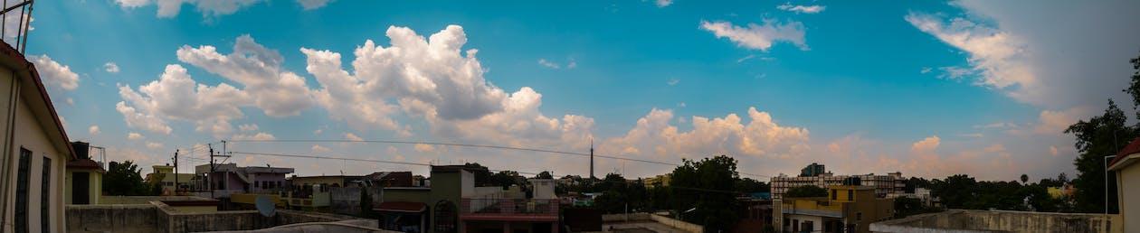 blue, canon, cityscape