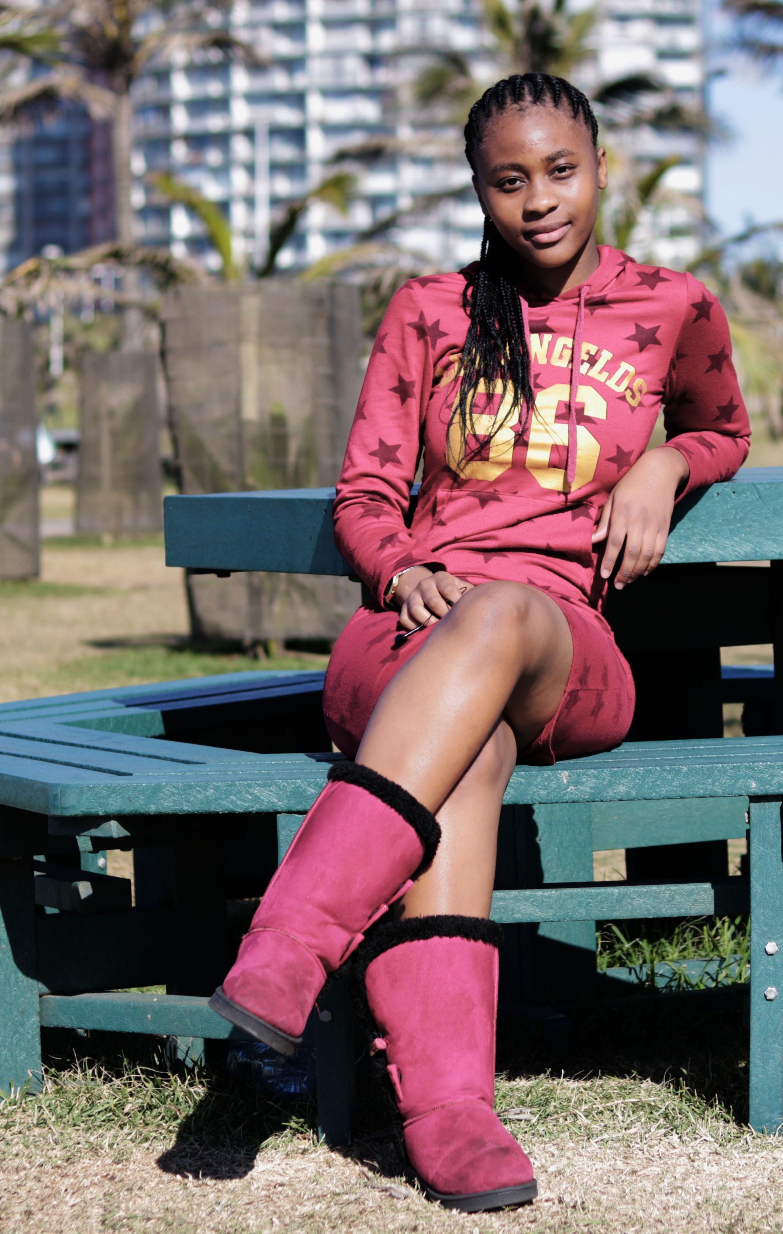 Free stock photo of Black beautiful woman