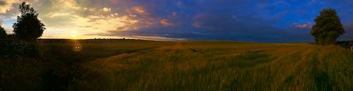 Free stock photo of fields, land, long, panoramic