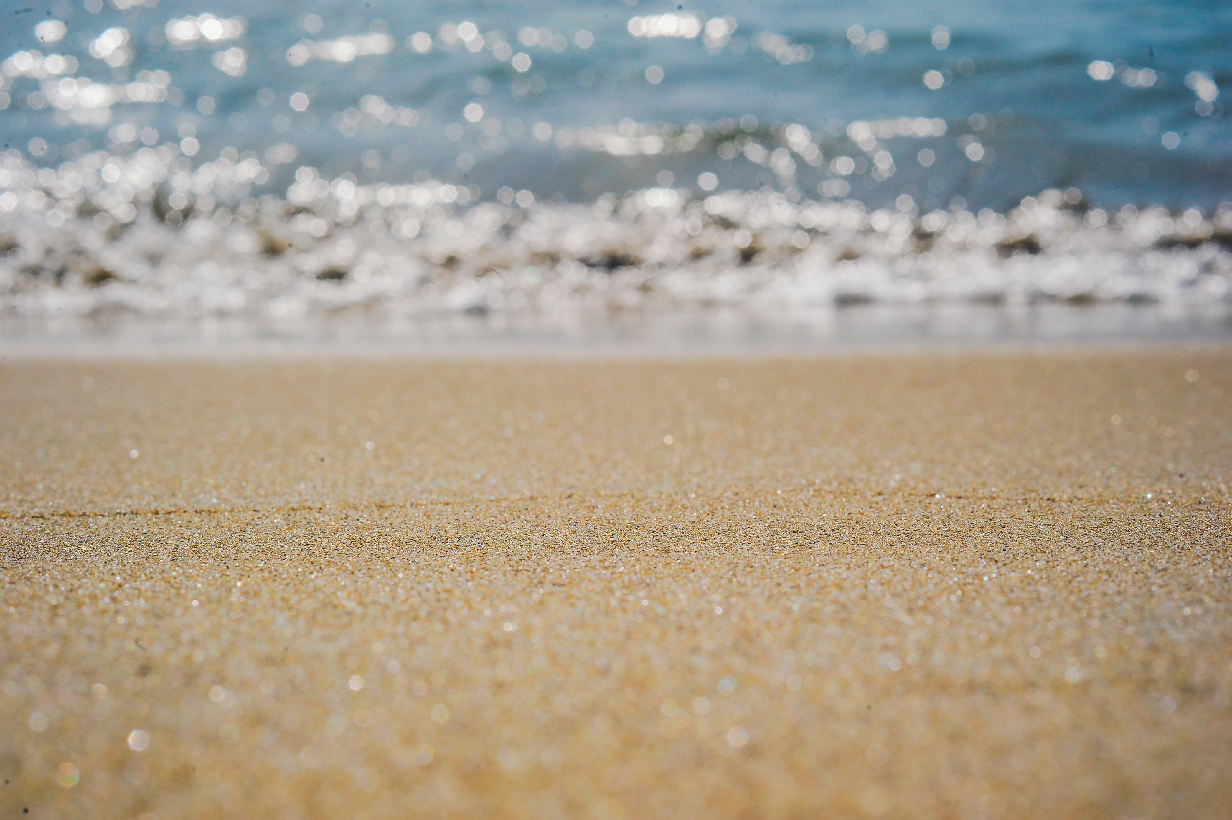 Fotos de stock gratuitas de agua, al lado del océano, arena, concentrarse