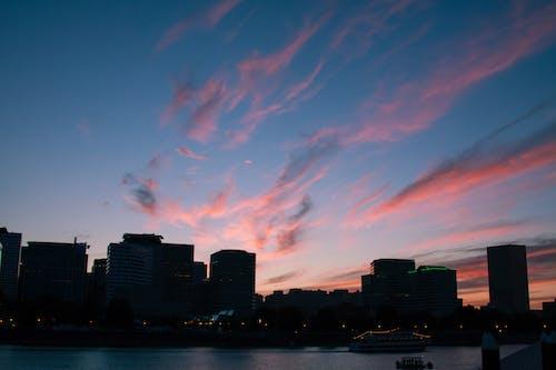 Imagine de stoc gratuită din localitate, Portland, sunsuet