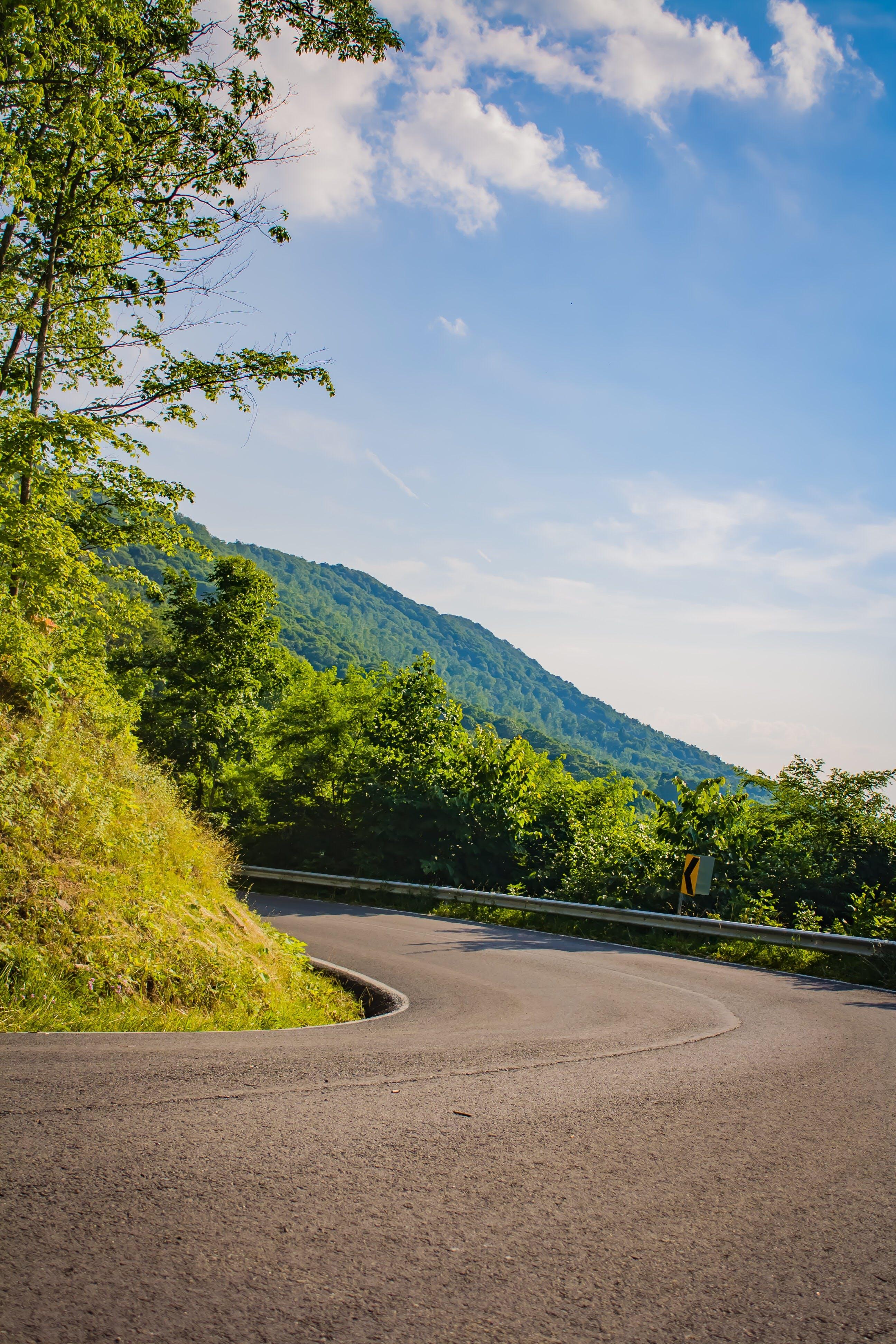 Free stock photo of mountain, road