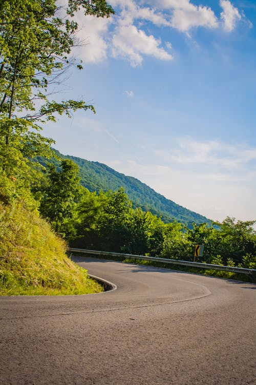 Darmowe zdjęcie z galerii z droga, góra