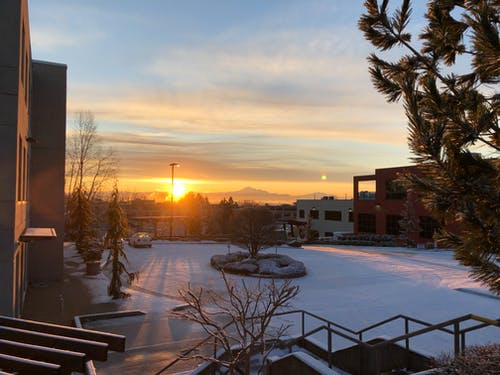 Free stock photo of early morning, golden sun, morning sun, mountains