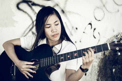Gratis lagerfoto af Asiatisk pige, sort