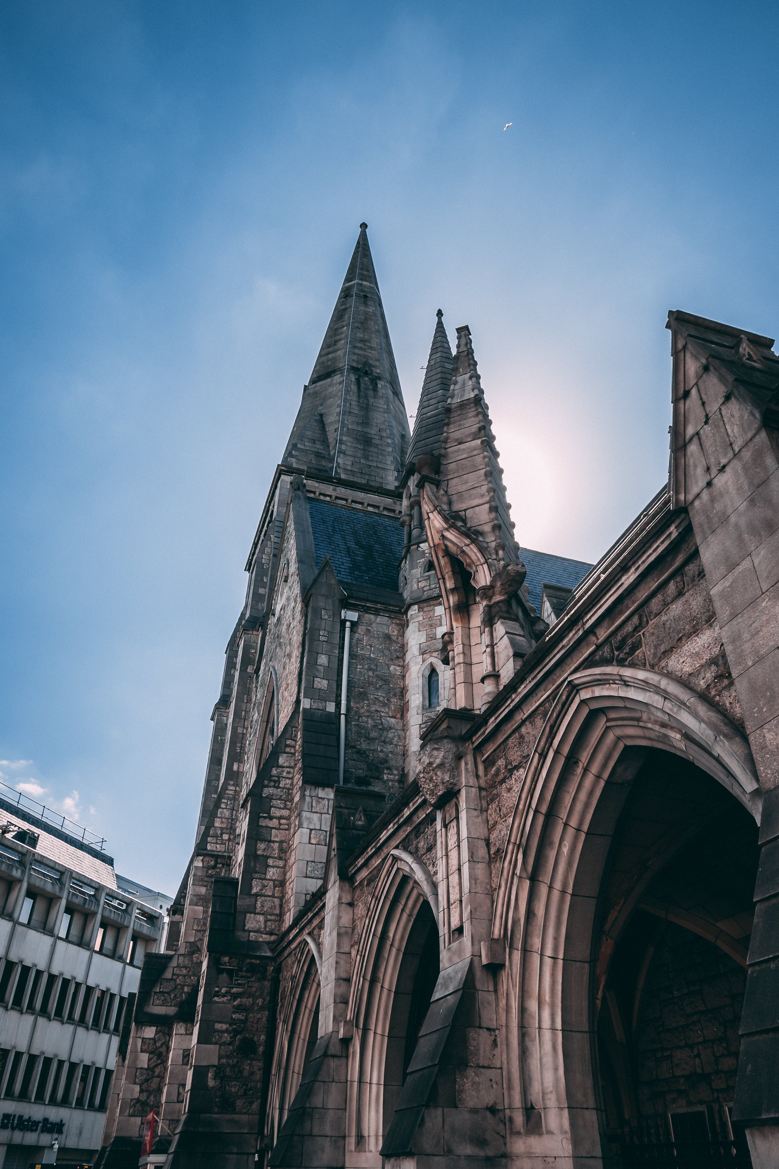 Low Angle View on Cathedral
