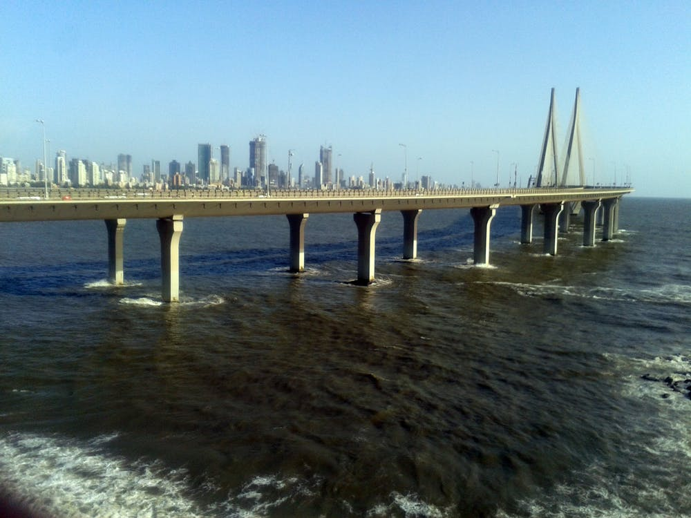 Free stock photo of india, mumbai, Sea Link Mumbai