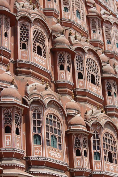 Free stock photo of Hawa Mahal, pink city, rajasthan