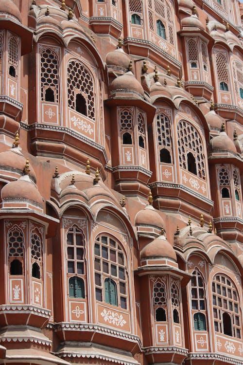 Free stock photo of hawa mahal, pink city, rajasthan