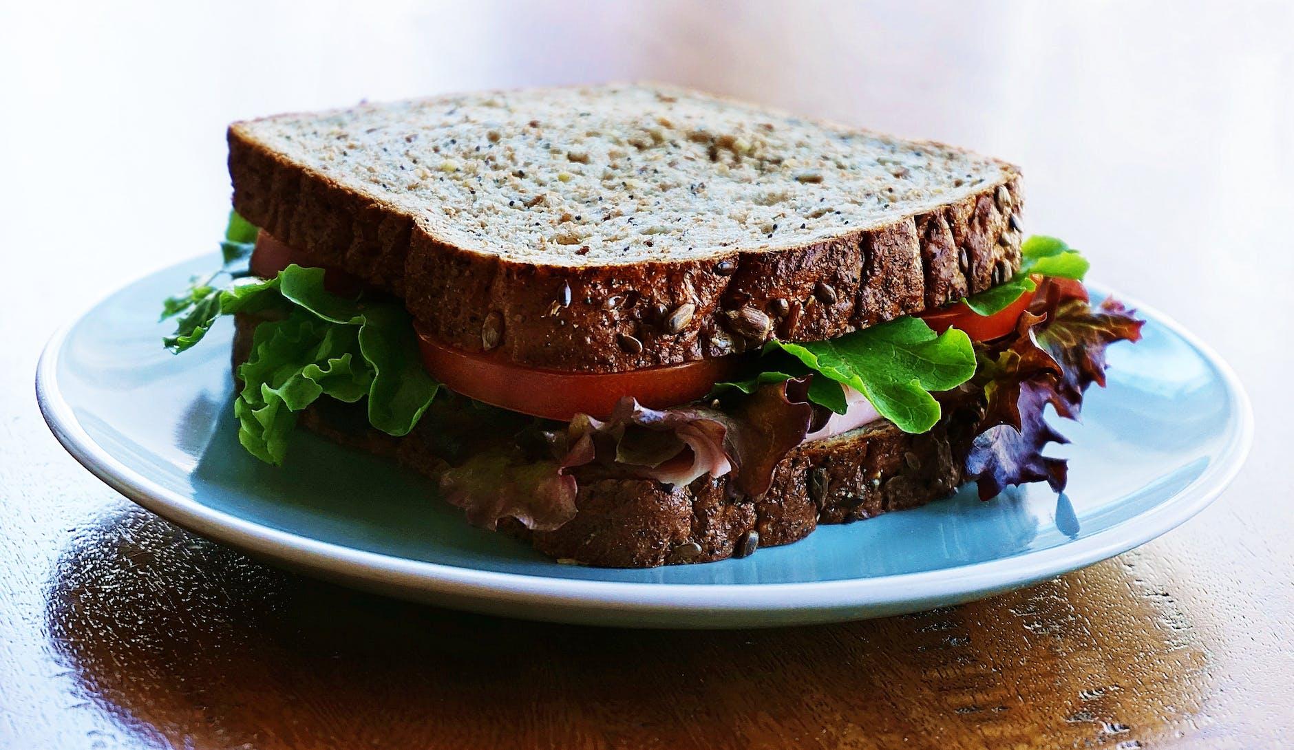 colaciones de sandwich