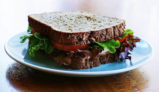 Wheat Bread Sandwich