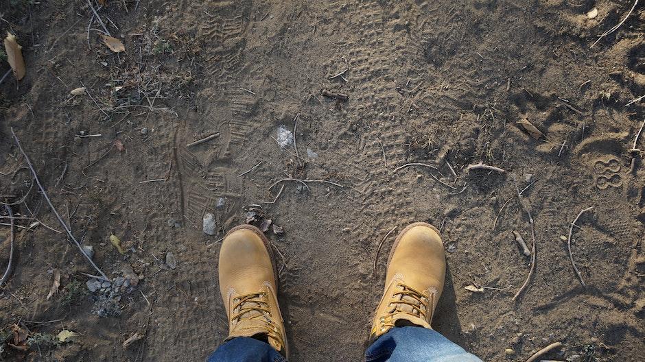 ground, hiker, hiking