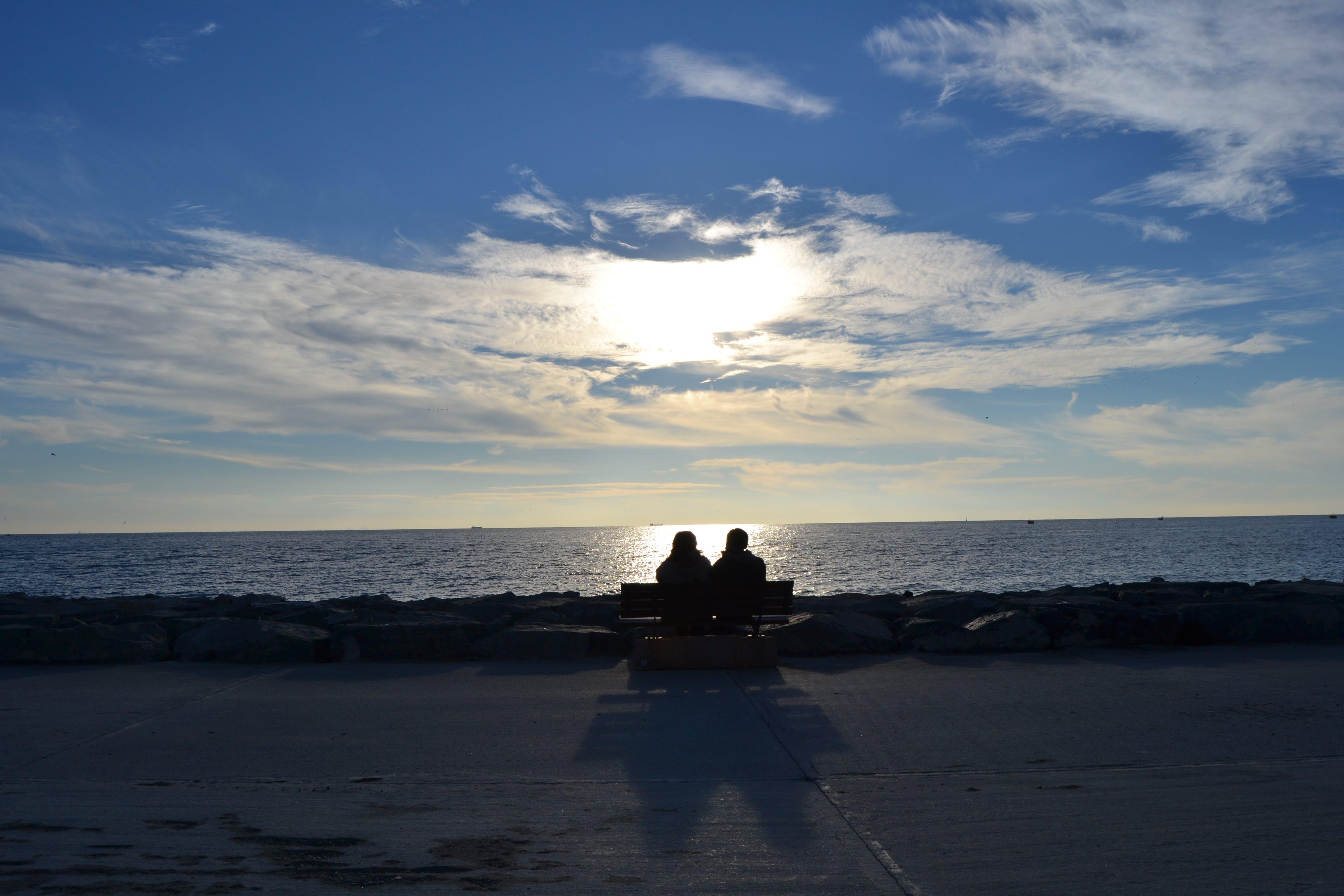 Free stock photo of love, manzara, nature, sea