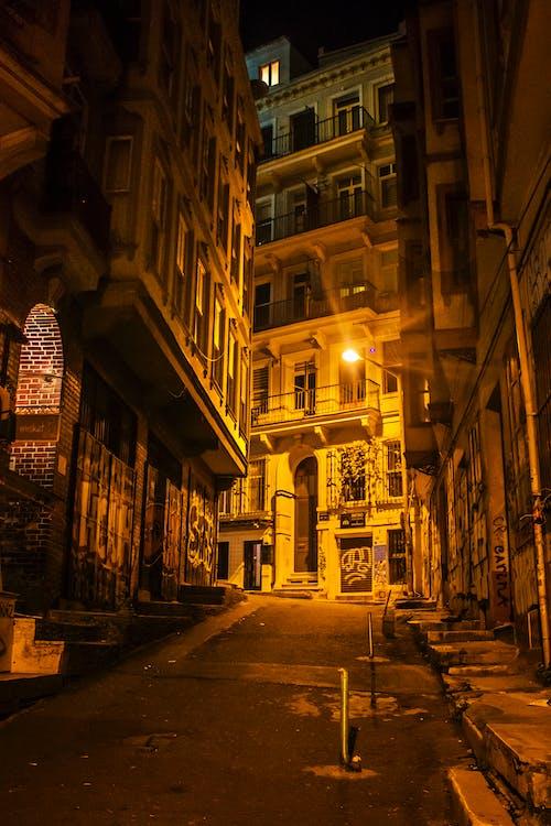 Δωρεάν στοκ φωτογραφιών με beyoglu, galata, gece, Κωνσταντινούπολη
